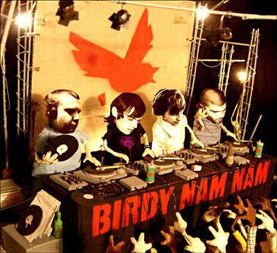 Birdy Nam Nam/READY FOR WAR... 3LP