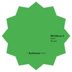 "Keyboard Masher/KM EDITIONS #4 EP 12"""