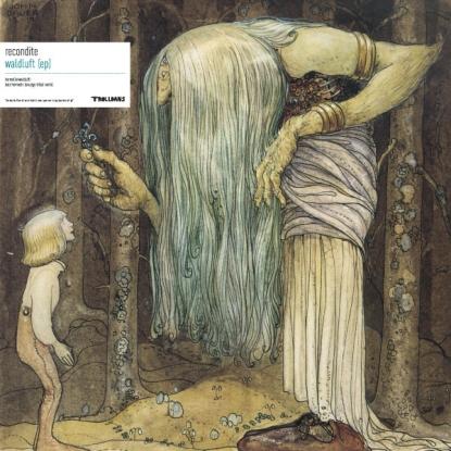 "Recondite/WALDLUFT (SKUDGE REMIX) EP 12"""